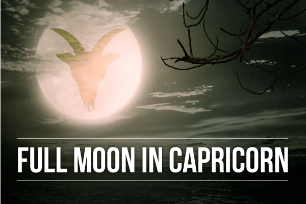 Full Moon in Capricorn Draw a Line Under it!