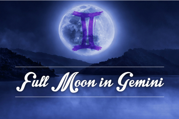 Full Moon in Gemini: Clear Your Head!