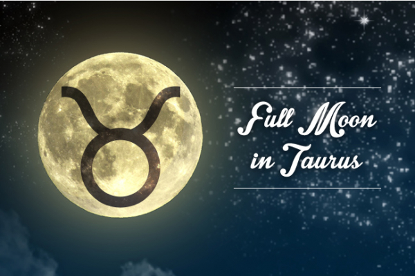 Full Moon Supermoon in Taurus: Sensuality and Pleasure!