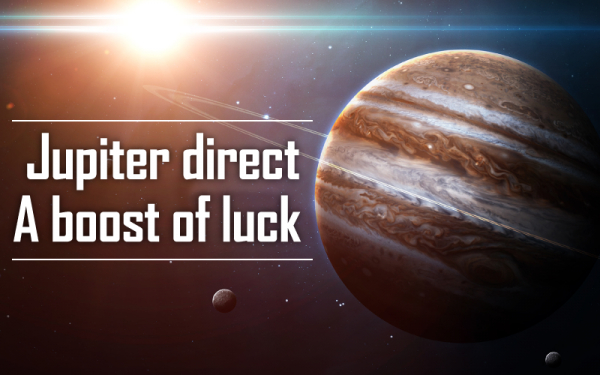 Jupiter Direct Improves your Luck!