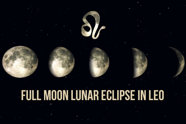 Leo Full Moon Lunar Eclipse: Dramatic Changes!