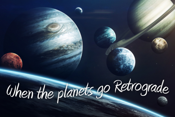 Retrograde Planets in Astrology