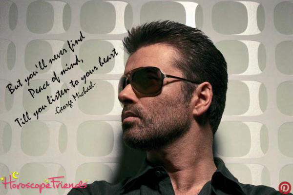 The talented Mr George Michael and his astrological birth-chart