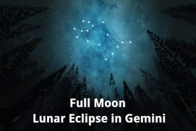 Full Moon Lunar Eclipse in Gemini