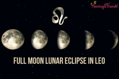Full Moon Total Lunar Eclipse in Leo 2019