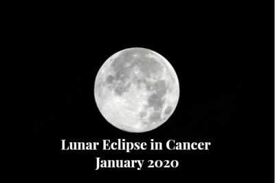 Lunar Eclipse in Cancer January 2020