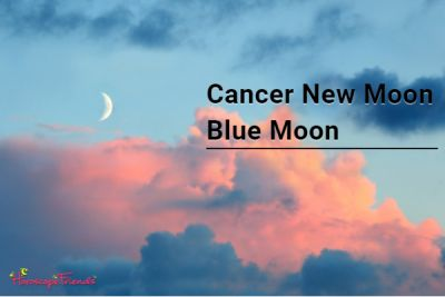 New Moon Blue Moon in Cancer 2020