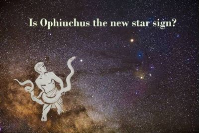 They say the star signs have changed