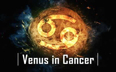 Venus in Cancer July 2019